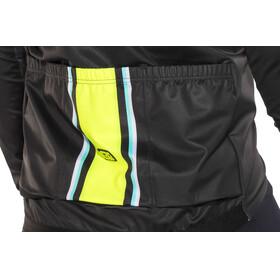 Alé Cycling R-EV1 Speedfondo Jacket Men Black-Floud Yellow-Turquoise